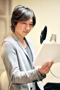 小野さん、先生を熱演中…
