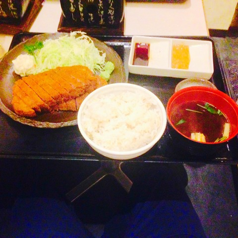 肉ダブル・麦めし定食の画像