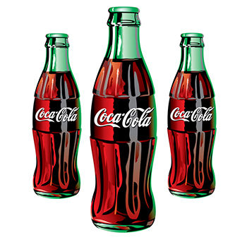 コカコーラのボトル