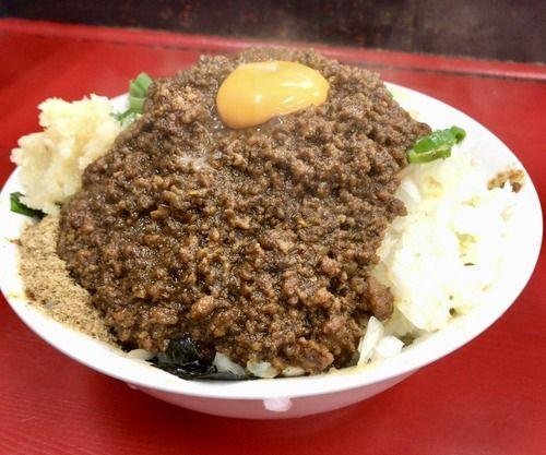 """【画像】日本一の台湾ミンチ肉の量を誇る""""台湾そば""""がコレwwwwwwwww"""