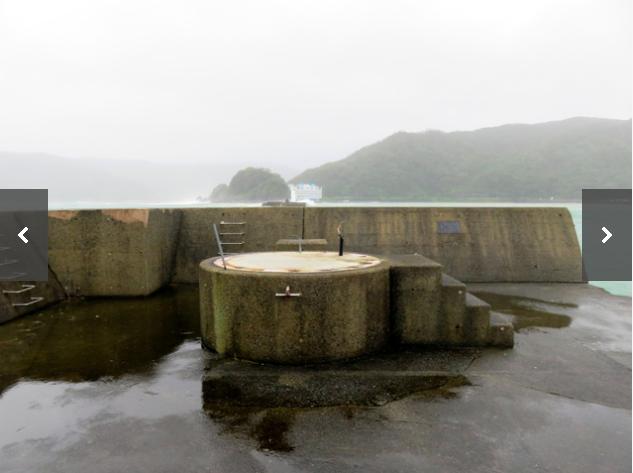 【画像あり】台風24号さん、11mある灯台を根本から消滅させてしまう
