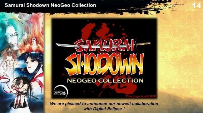 格ゲー「サムスピ」6作品を収録した『サムライスピリッツ ショーダウン ネオジオコレクション』PS4/スイッチ/XBOXONE/PCで今秋発売決定!
