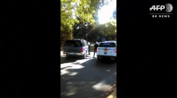 「撃たないで!」 米警察の黒人射殺、妻撮影の動画公開