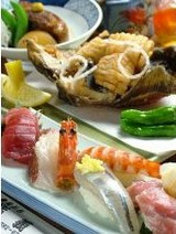 鮨義の海鮮料理