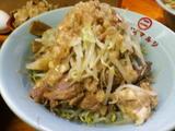 豚増しラーメン 麺増し(豚&野菜)