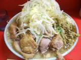 大ブタ入りラーメン 麺増し +和ッ!カレー