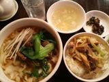 排骨麺&Cセット