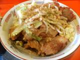 大トリプルラーメン 麺増し(豚&野菜)