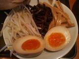 Cつけ麺 (トッピング)+味玉子