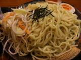 ごまつけ麺 大盛+味つけ玉子・野菜 (麺・具)