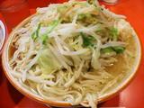 大豚トリプルラーメン 麺増し