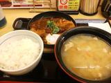 みそ煮カツ鍋定食(とん汁大変更)