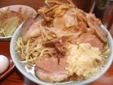 豚入りラーメン 麺増し