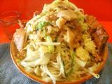 大トリプルラーメン 麺増し