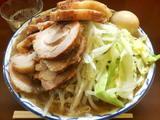 豚増しラーメン大盛り 麺増し+豚増し+味付け玉子