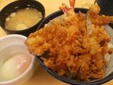 大江戸天丼(半熟玉子付き)小盛り