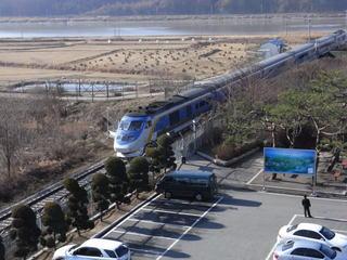 開城までの鉄道