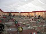 ドーハの練習会場