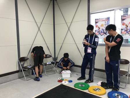 56kg級 Bグループの競技開始