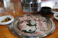 炭焼き薄焼き三枚肉