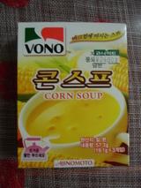 韓国で売っている「味の素コーンスープ」