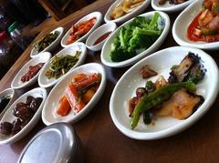 5000ウォンの韓食定食