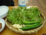 サム用野菜