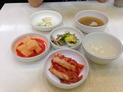 娘と韓食ランチ