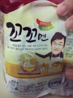 韓国では有名なタレント、イ・ギョンギュが開発したラーメンです。