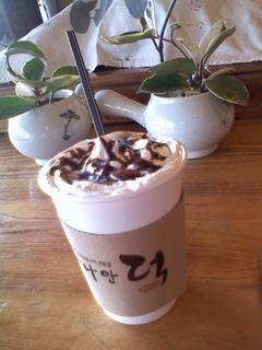 カフェモカ2500ウォン