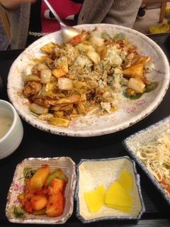 韓国人が食べるとこうなります。