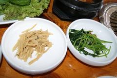タケノコのナムル&山菜のナムル