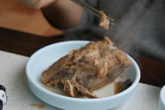 豚の背骨のお肉