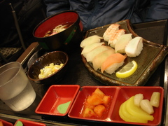 味笑屋寿司セット