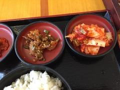 オイジ(きゅうりの漬物)、キムチ