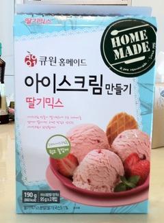 ホームメイド・アイスクリーム作り