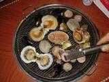 貝の塩焼き(チョゲ・クイ)