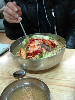水冷麺(ムルネンミョン)
