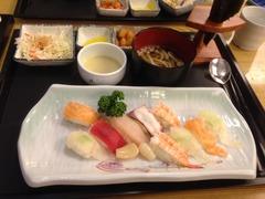 お寿司定食11000ウォン