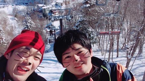 スキースノボ旅行写真_5