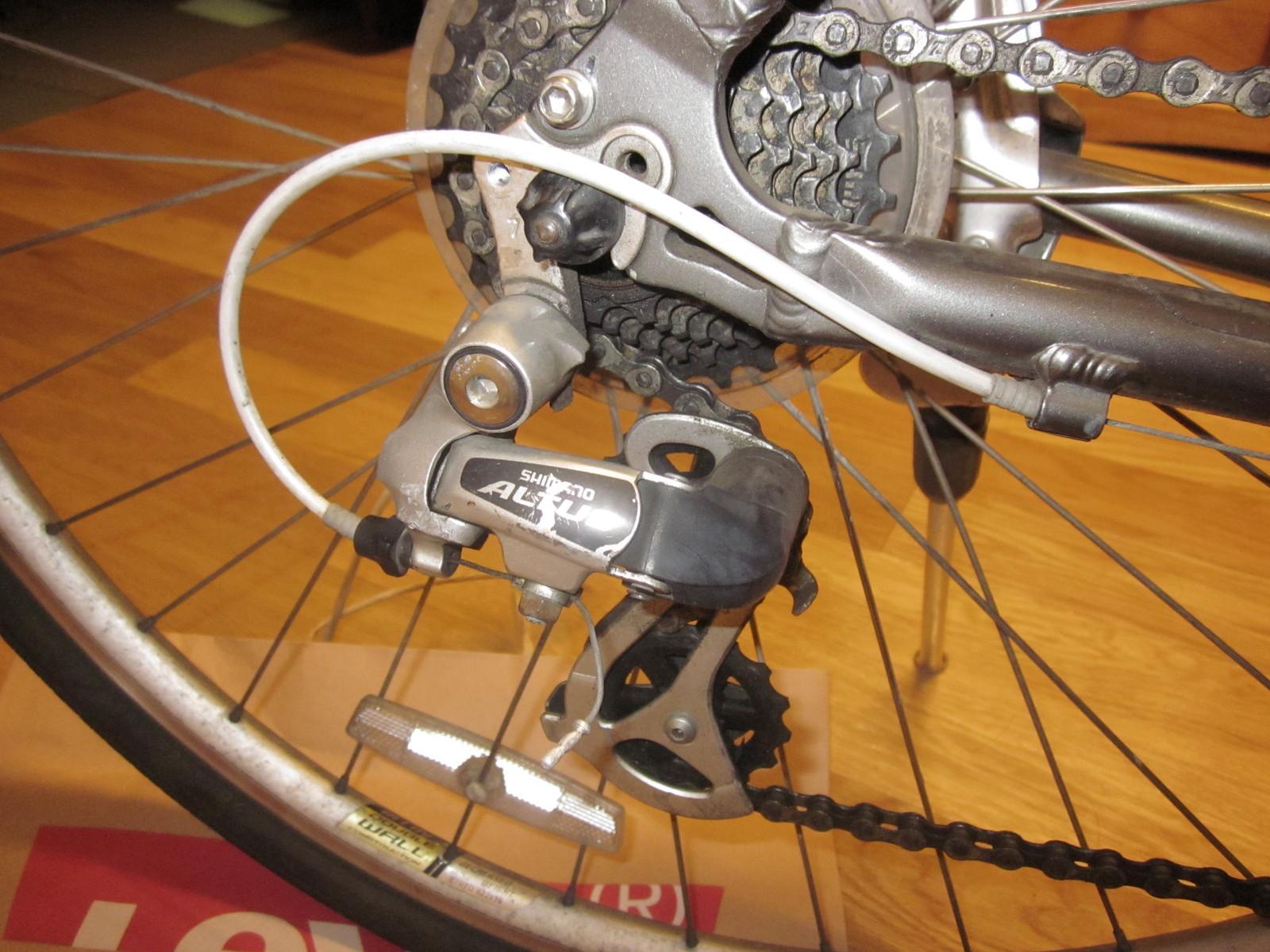 まず、自転車の変速機を見て ...