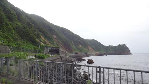 DSC01370雄冬岬トンネル878m