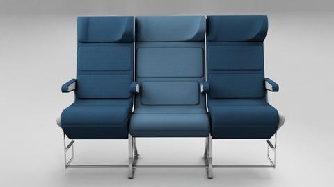 飛行機座席3