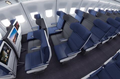 飛行機座席1