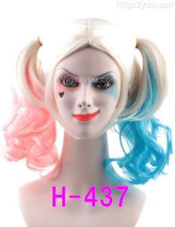 H-437 コスプレ ウィッグ ハーレイクイン スーサイドスクワッド