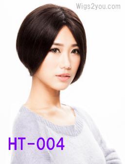 HT-004 レースフロント 人毛ウィッグ 医療用 Wigs2you