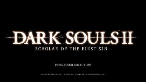 DARK SOULS Ⅱ SCHOLAR OF THE FIRST SIN_20150619211431