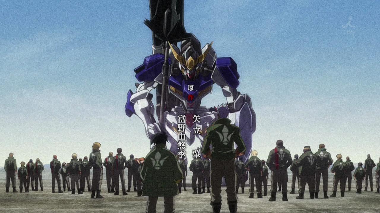 画像 アニメ 機動戦士ガンダム 鉄血のオルフェンズ Op バルバトスの