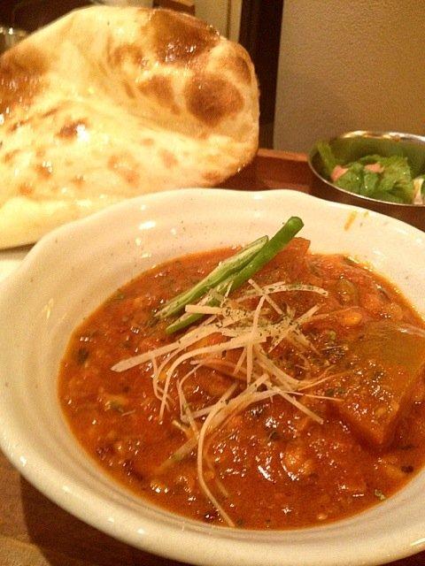 冬瓜とチキンとレンズ豆カレー at 印度食堂 なんかれ SnapDish 料理カメラ