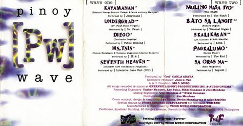Pinoy Wave Album